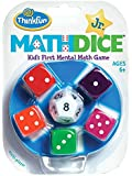 Think Fun - Math Dice Jr., juego de mesa (TF1515)