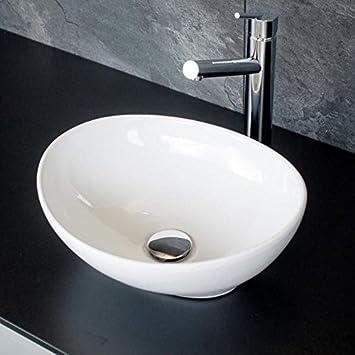 Aufsatzwaschbecken gäste wc  Kleines Design Gäste - WC Keramik Aufsatz Waschbecken ...