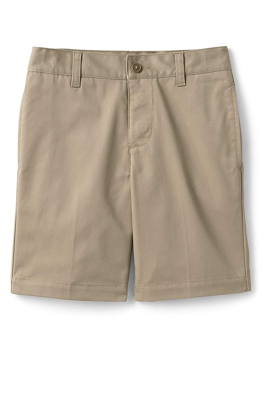 Lands End School Uniform Little Boys Adaptive Blend Chino Shorts