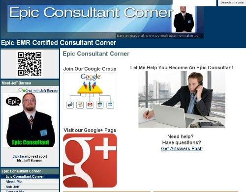 amazoncom epic consultant corner jeff barnes kindle store - Epic Consultant