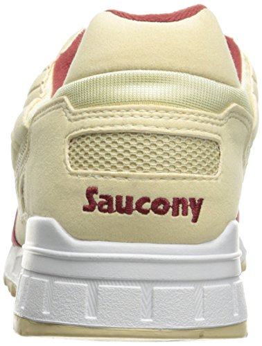Saucony Originals Herren Shadow 5000 Fashion Sneaker Creme / Rot