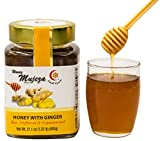 4 oz juice boxes - MUJEZA Honey with fresh Ginger juice Raw Honey 600g /21 oz (100g / 4 oz more than it used to be) Unprocessed, Unheated,100% Natural