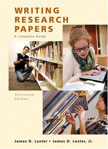 Writing Research Papers (Spiral) (13th Edition)