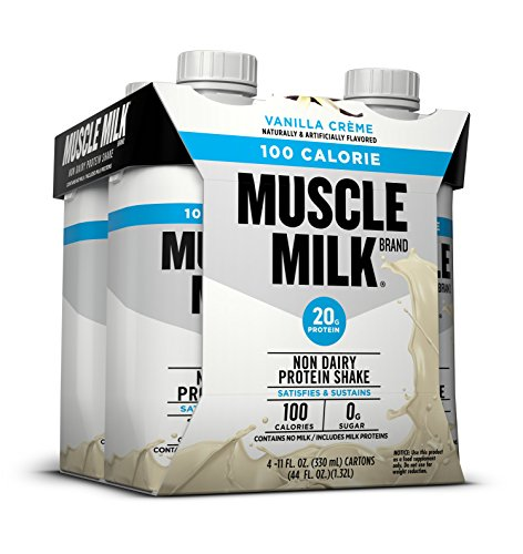 Cytosport 100 Calories Muscle Milk Nutritional Drink, Vanilla (Pack of 4)