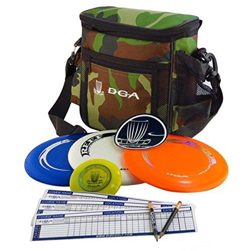 DGA Complete Disc Golf Starter Set, Camo
