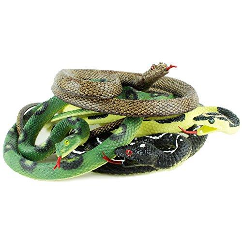 Boley Eden & Me - Collector Grade Snake Set - 4 Snakes… by Boley