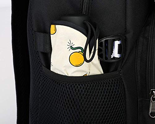 Luminous Casual Backpack For_tnite Boy&Girl Funny Custom Luminous School Bag Unisex Luminous Laptop Backpacks Fan Bag With USB Charging Port And Pencil Case by Ongjiadx (Image #6)