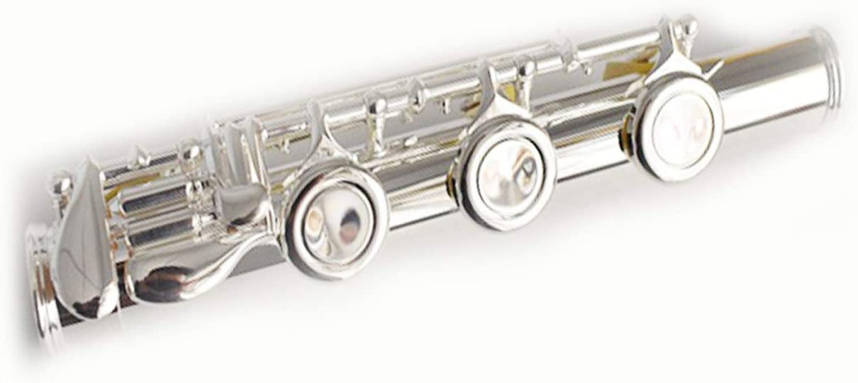 Funion Flute B Foot Interior Diameter of Head Joint 19.9 mm Silver Plated High Quality Pads Springs