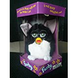 Furby - Black with White Tummy and Green Eyes - Model 70-800