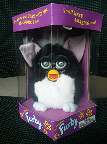 Furby - Black with White Tummy and Green Eyes - Model 70-800 by Furby (Image #1)