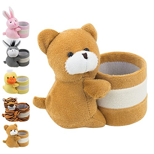 Eyeglass Holder Glasses Stand with Cute Plush Animal Character Design, Bear, By - Glasses Cute Are