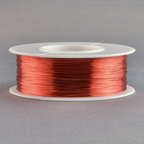 Magnet Wire 30 Gauge AWG Enameled Copper 785 Feet Coil Winding 4oz 155°C Red