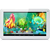iRULU eXpro X1s 10.1 Inch Quad Core Google Android 5.1 Lollipop Tablet PC, 1GB RAM, 16GB Nand Flash, 1024*600 Resolution, WiFi, Bluetooth(White)