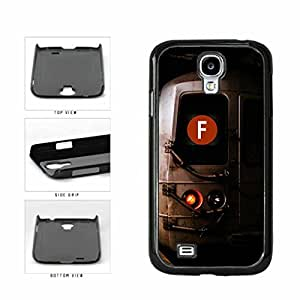 Personalized NYC Train Custom Letter F Plastic Phone Case Back Cover Samsung Galaxy S4 I9500