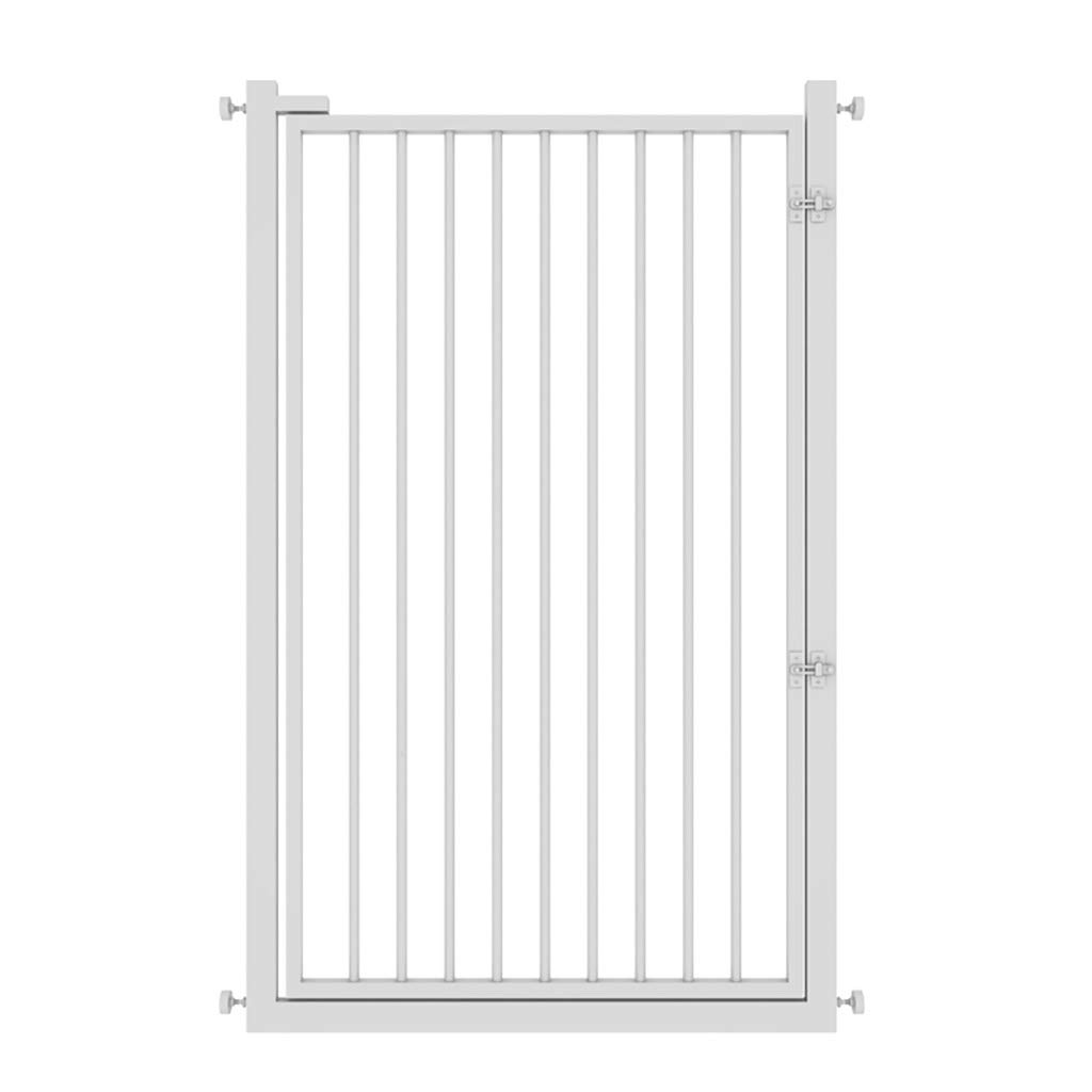 子供の安全ドア階段の手すりペットフェンスの犬のフェンス隔離ドアパンチフリー暗号化された白の高さドアの幅65~70センチメートル100センチメートル (サイズ さいず : 71-76cm) 71-76cm  B07GXQJXMZ