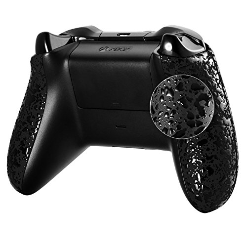 extremerater-granule-black-custom-right-left-textured-panel-handle-side-rails-for-microsoft-xbox-one
