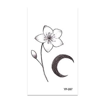 9 piezas brazo flor brazo pegatina pintada a mano letras inglesas ...