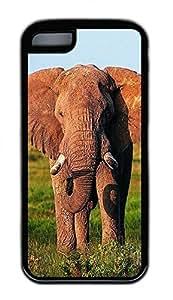 Distinct Waterproof Grassland Elephants1 Design Your Own for iphone 6 plus 5.5 Case