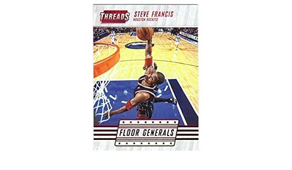 0a30599d4e2 Amazon.com  2016-17 Panini Threads Floor Generals Century Proof Red  12 Steve  Francis Rockets  Collectibles   Fine Art