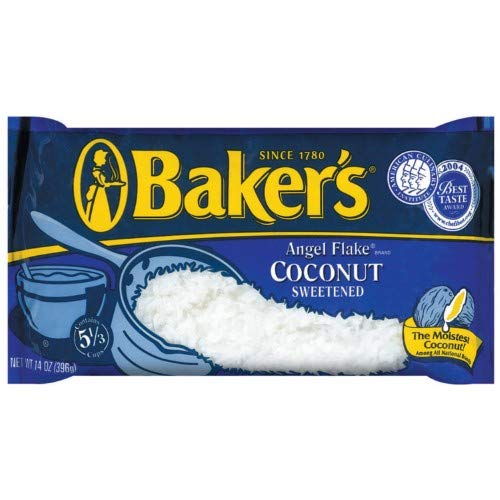 Baker's Angel Flake Sweetened Coconut (Pack of 8)