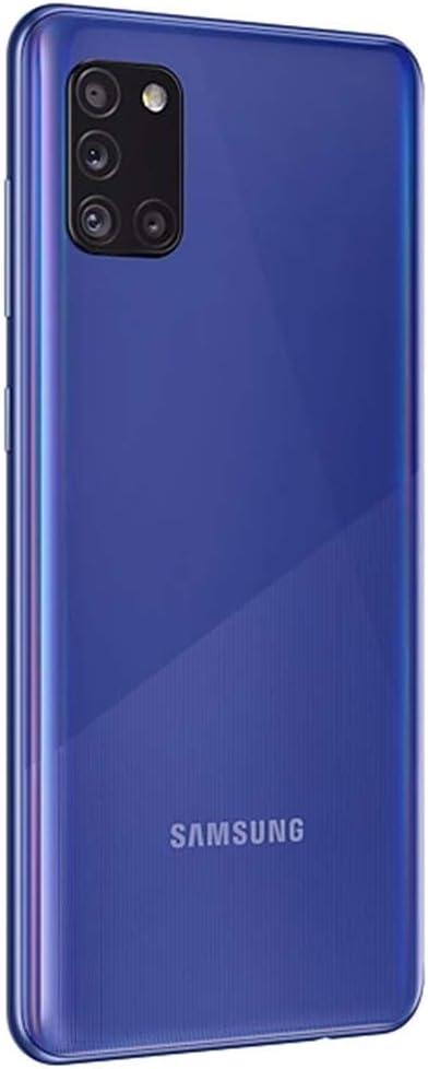 Prism Crush Black, 128GB SD Bundle 6.4 FHD+ Quad Camera Samsung Galaxy A31 128GB, 4GB 5000mAh Battery Dual SIM GSM Unlocked Canada /& Global 4G LTE International Model A315G//DSL