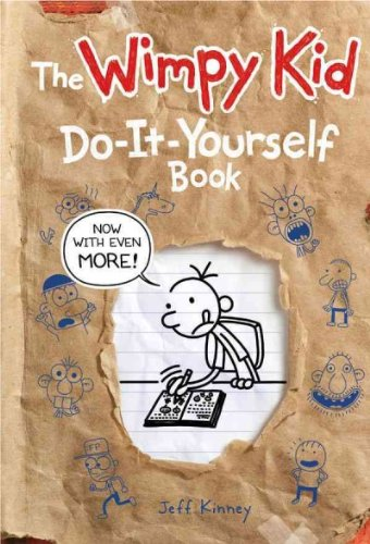 THE WIMPY KID DO-IT-YOURSELF BOOK BY KINNEY, JEFF(AUTHOR )HARDCOVER ON 10-MAY-2011