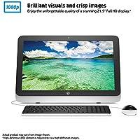 2016 Newest HP 21.5 All-in-One Desktop (Intel Celeron N3050, 4GB Ram, 500GB HDD, Windows 10, DVD Drive, HDMI, WiFi, VGA)