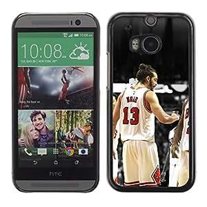 KeeLan Tech Funda Carcasa protectora - 13 Noé Bulls - HTC One M8