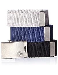 Levi's - Cinturón para hombre con hebilla