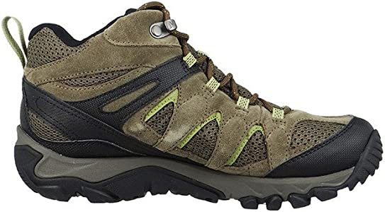 Merrell Outmost MID Vent GTX Shoes Men Brown Shoe Size UK 6