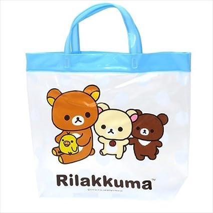 Ai Planning K-1195B Rilakkuma - Bolsa de plástico para piscina, color azul