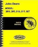 lawn sweeper john deere - John Deere 26H 26T 31S 31T 38TLawn Sweeper Parts Manual