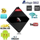3GB 16GB H96 Pro Plus Amlogic S912 Octa Core Android 7.1 TV Box Support Dual WiFi 4K 1000M LAN BT4.1