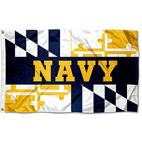 College Flags and Banners Co. US Navy Midshipmen Maryland State Flag