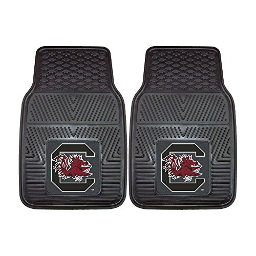 FANMATS NCAA University of South Carolina Gamecocks Vinyl Heavy Duty Car Mat