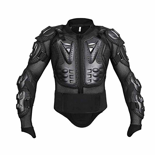 Wishwin Professional Motorcycle Armor Jacket Full Body Protective Gear Shoulder Spine Chest Cool Automotive ATV Dirt Bike Racing by