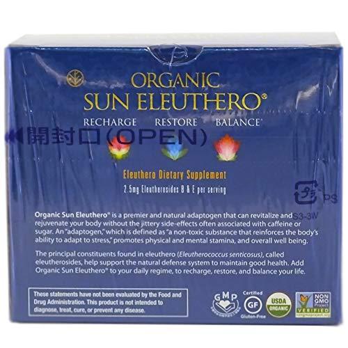 Sun Chlorella- Organic Sun Eleuthero Dietary Supplement- 200Mg Tablets (1200 Count) by Sun Chlorella (Image #1)