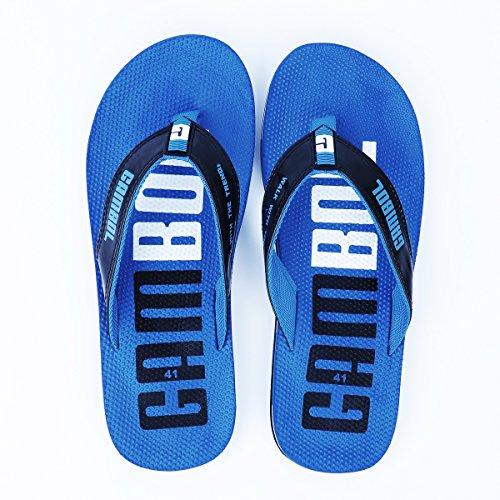 Gambol Heren Sandalen Schoenen - Zapp Style Blauw
