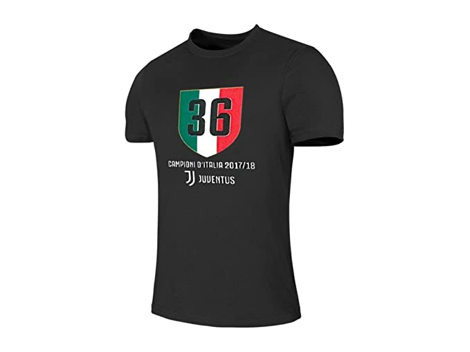 F.C. JUVENTUS - Camiseta - para Hombre Negro 6 Años