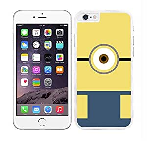 HARD CASE COVER FITS IPHONE 6 PLUS MINION FACE DESIGN by ruishername