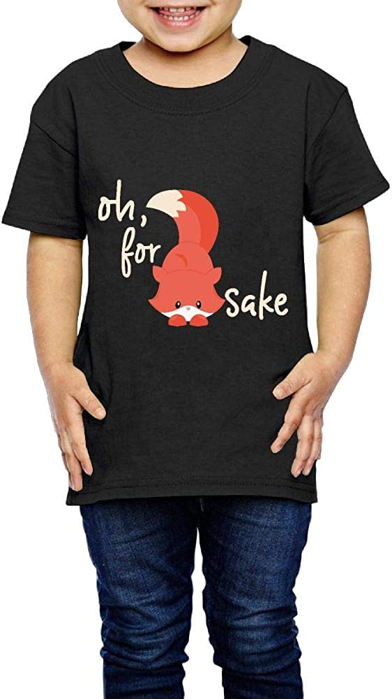 Oh for Fox Sake 2-6 Years Old Child Short-Sleeved T Shirts