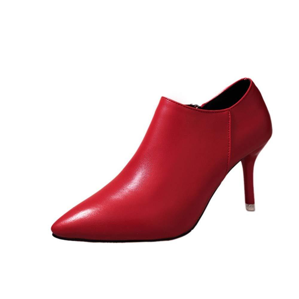 a junkai bottes à talons talons talons courts chaussures bottes automne hiver court martin bottes et bottes de nus.trente quatre b07hd9qpv9 parent dc991e
