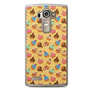 Mix LG G4 Transparent Edge Case - Bakery Collection