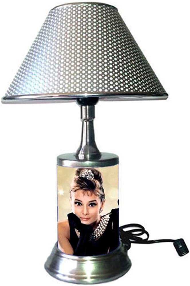 JS Audrey Hepburn Lamp with Shade, Breakfast at Tiffany s