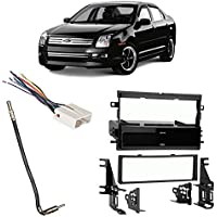 Fits Ford Fusion 2006-2009 Single DIN Stereo Harness Radio Install Dash Kit