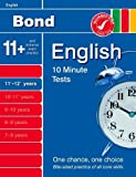By Sarah Lindsay Bond 10 Minute Tests English 11-12+ years (Pmplt New) [Paperback]