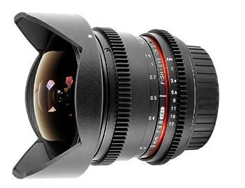 Samyang mm T Objetivo ojo de pez para Canon EOS V DSLR