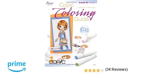 Copic Coloring Guide Level 3: People: Colleen Schaan, Marianne ...
