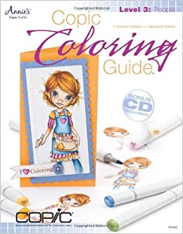 Copic Coloring Guide Level 3: People: Amazon.de: Colleen ...
