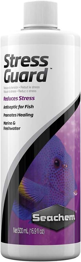 Seachem StressGuard Slime Coat Protection - Stress and Toxic Ammonia Reducer 500 ml